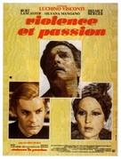 Gruppo di famiglia in un interno - French Movie Poster (xs thumbnail)