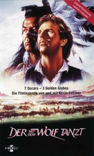 Dances with Wolves - German VHS movie cover (xs thumbnail)