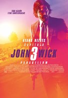 John Wick: Chapter 3 - Parabellum - Spanish Movie Poster (xs thumbnail)