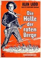 Red Mountain - German Movie Poster (xs thumbnail)