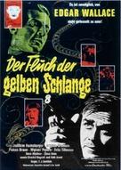Der Fluch der gelben Schlange - German Movie Poster (xs thumbnail)