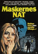 Halloween - Danish Movie Poster (xs thumbnail)