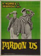 Pardon Us - Indian Movie Poster (xs thumbnail)