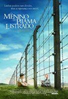 The Boy in the Striped Pyjamas - Brazilian Movie Poster (xs thumbnail)
