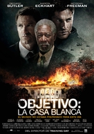 Olympus Has Fallen - Spanish Movie Poster (xs thumbnail)