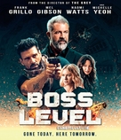 Boss Level - Canadian Blu-Ray movie cover (xs thumbnail)