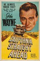 California Straight Ahead! - Movie Poster (xs thumbnail)