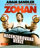 You Don't Mess with the Zohan - Czech Movie Cover (xs thumbnail)