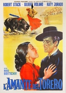 Bullfighter and the Lady - Italian Movie Poster (xs thumbnail)