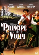 Prince of Foxes - Italian DVD movie cover (xs thumbnail)