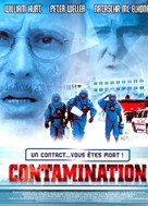 Contaminated Man - French DVD movie cover (xs thumbnail)