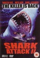 Shark Attack 2 - British DVD cover (xs thumbnail)