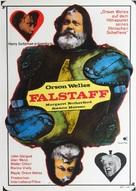 Chimes at Midnight - German Movie Poster (xs thumbnail)