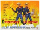 Sergeant Rutledge - British Movie Poster (xs thumbnail)