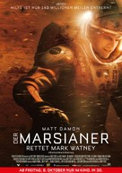 The Martian - Austrian Movie Poster (xs thumbnail)