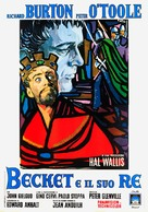 Becket - Italian Movie Poster (xs thumbnail)