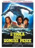 The Island of the Fishmen - Italian Movie Poster (xs thumbnail)