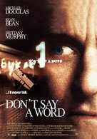 Don't Say A Word - Movie Poster (xs thumbnail)