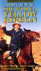 She Wore a Yellow Ribbon - British Movie Cover (xs thumbnail)