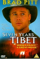 Seven Years In Tibet - British DVD movie cover (xs thumbnail)
