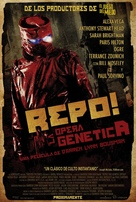 Repo! The Genetic Opera - Mexican Movie Poster (xs thumbnail)