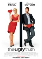 The Ugly Truth - Swedish Movie Poster (xs thumbnail)