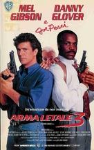 Lethal Weapon 3 - Italian Movie Poster (xs thumbnail)