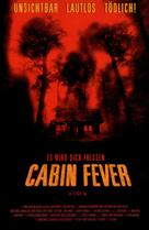 Cabin Fever - German Movie Poster (xs thumbnail)