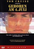 Born on the Fourth of July - German DVD cover (xs thumbnail)