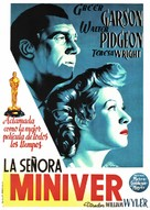 Mrs. Miniver - Spanish Movie Poster (xs thumbnail)