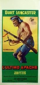 Apache - Italian Movie Poster (xs thumbnail)