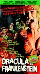 Dracula Vs. Frankenstein - VHS cover (xs thumbnail)
