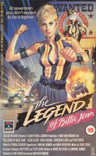 The Legend of Billie Jean - British VHS movie cover (xs thumbnail)