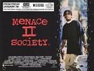 Menace II Society - British Movie Poster (xs thumbnail)