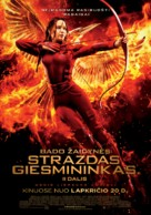 The Hunger Games: Mockingjay - Part 2 - Lithuanian Movie Poster (xs thumbnail)