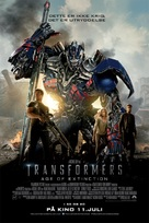 Transformers: Age of Extinction - Norwegian Movie Poster (xs thumbnail)