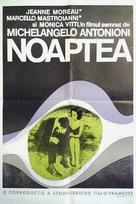 La notte - Romanian Movie Poster (xs thumbnail)