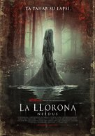 The Curse of La Llorona - Estonian Movie Poster (xs thumbnail)