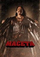 Machete - Slovenian Movie Poster (xs thumbnail)