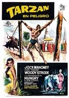 Tarzan's Three Challenges - Spanish Movie Poster (xs thumbnail)