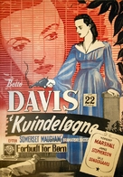 The Letter - Danish Movie Poster (xs thumbnail)