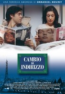 Changement d'adresse - Italian Movie Poster (xs thumbnail)