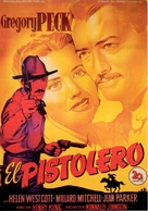 The Gunfighter - Spanish Movie Poster (xs thumbnail)