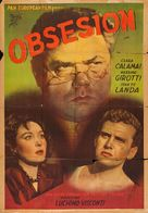 Ossessione - Argentinian Movie Poster (xs thumbnail)
