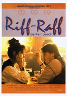 Riff-Raff - Spanish Movie Poster (xs thumbnail)