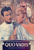 Quo Vadis - German poster (xs thumbnail)