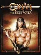 Conan The Destroyer - Movie Cover (xs thumbnail)