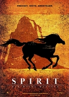 Spirit: Stallion of the Cimarron - German Movie Poster (xs thumbnail)