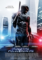 RoboCop - Lithuanian Movie Poster (xs thumbnail)