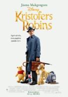 Christopher Robin - Latvian Movie Poster (xs thumbnail)